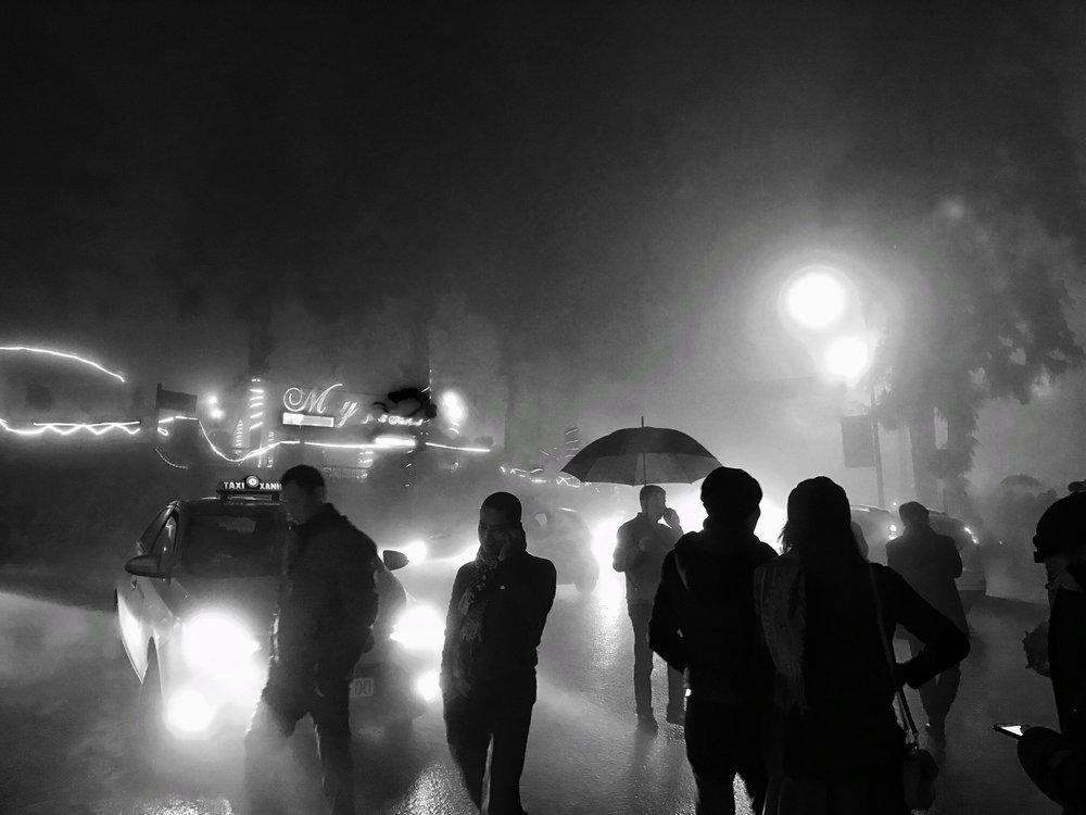 Rainy Night in Sapa (Vietnam)