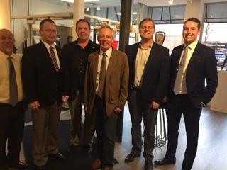 Left-to-Right: Chris Kalash, Brent Sanford, Bruce Gjovig, Jay Schuler, Ryan Rauschenberger, and Robert Lauf