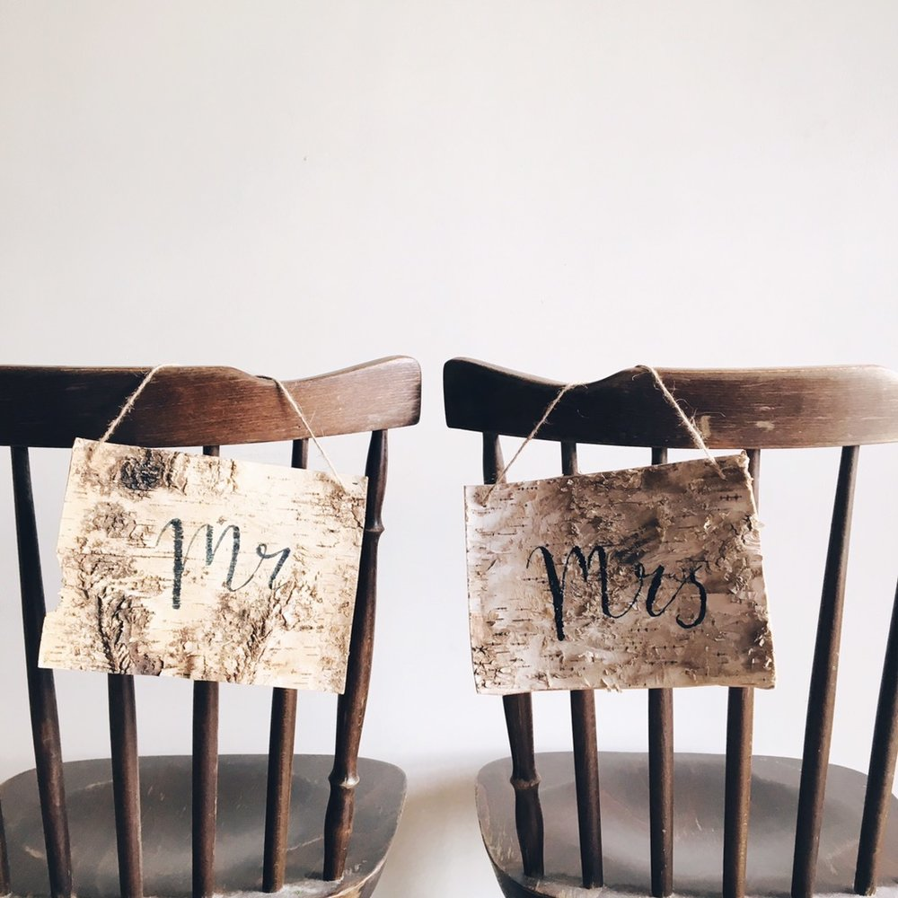 rustic wedding chair covers