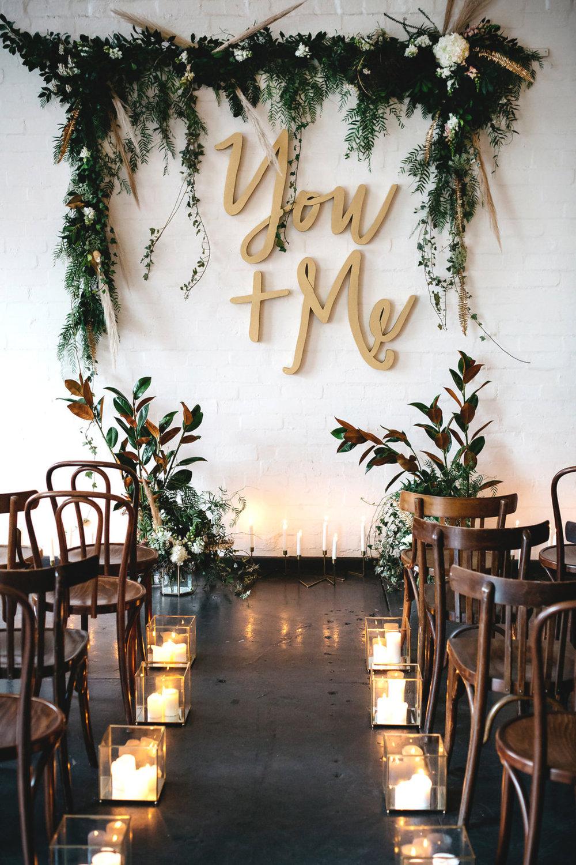 blank canvas wedding inspiration