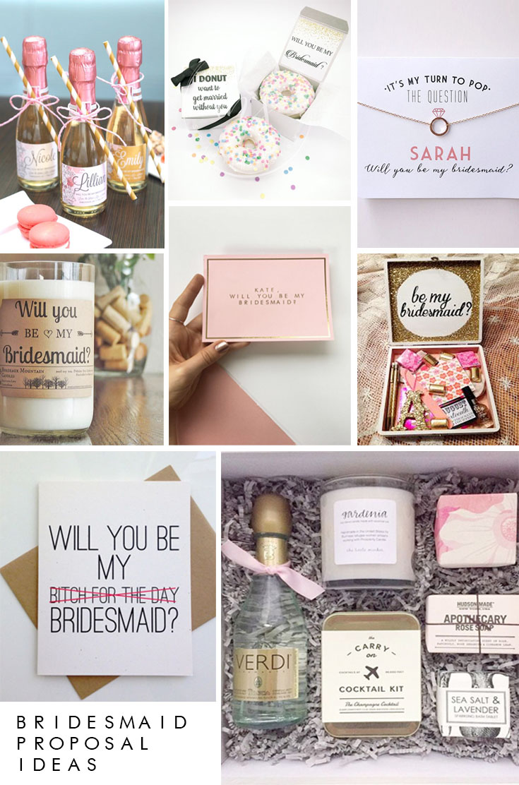 how to propose to your bridesmaids