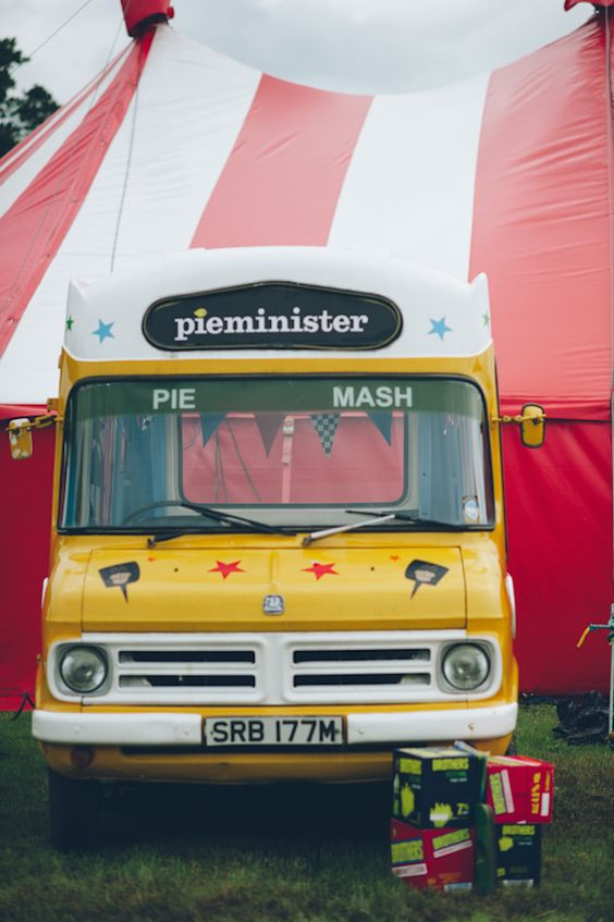 Food trucks will make you super popular with your wedding guests -  image via