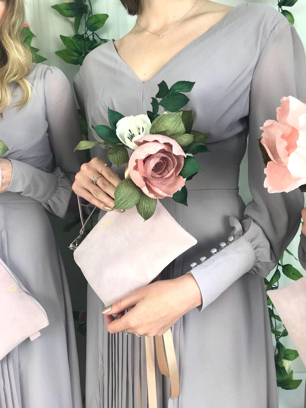 unique bridesmaids bouquet ideas