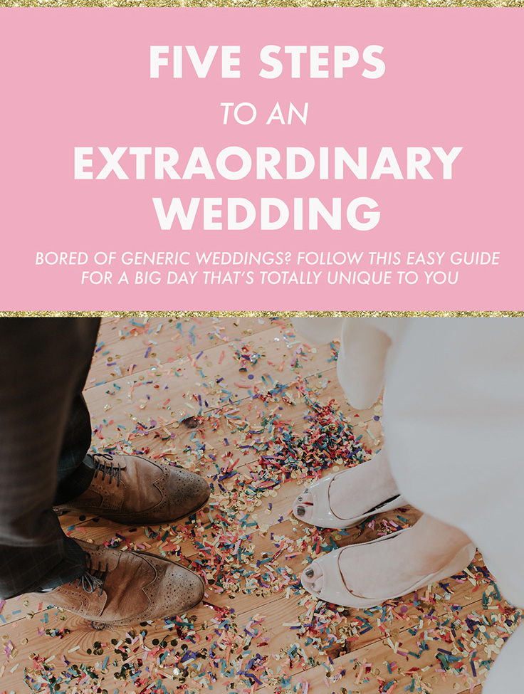 tips for an extraordinary wedding