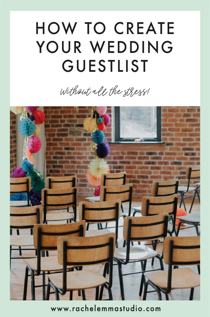 wedding guest list tips