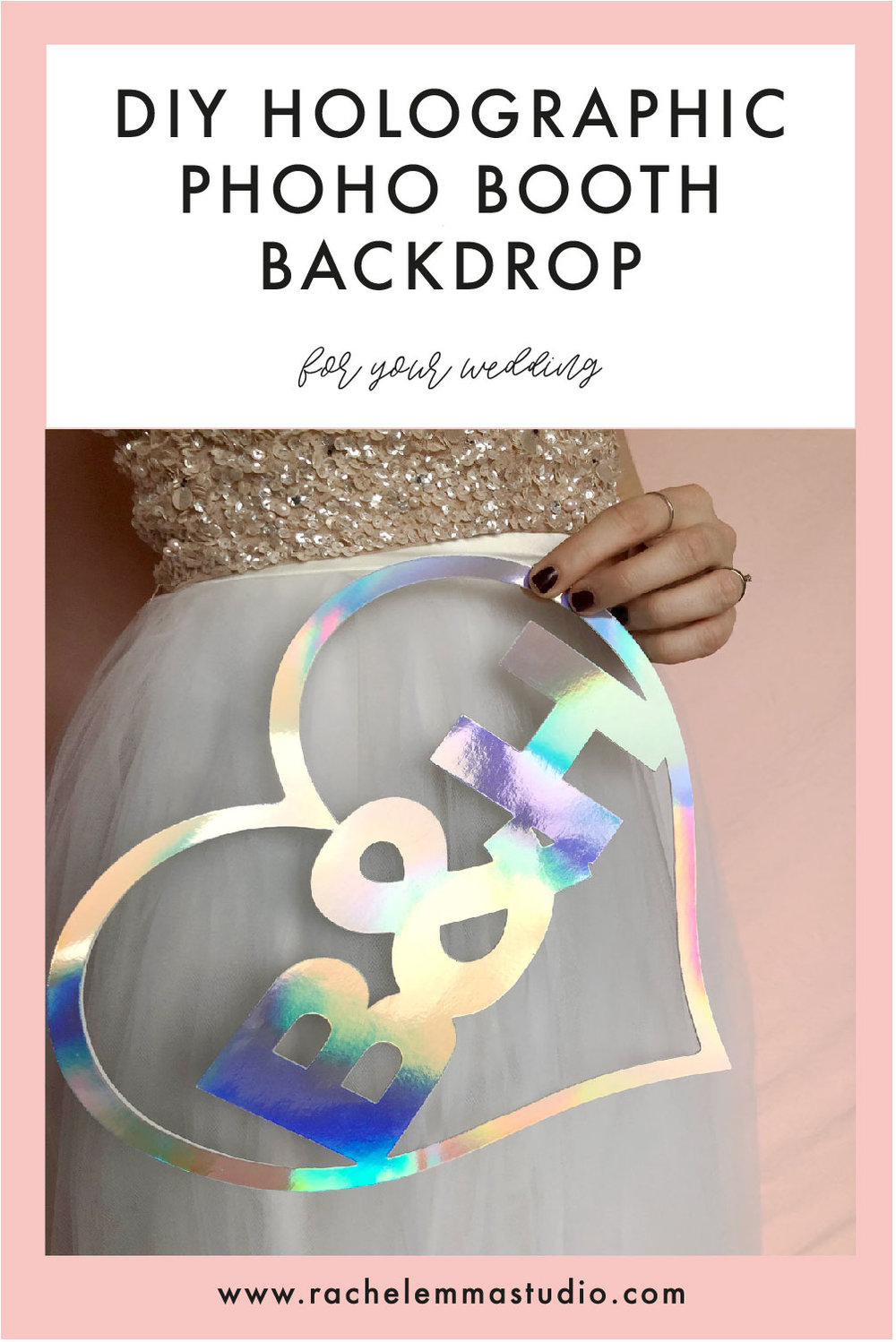 holographic wedding inspiration