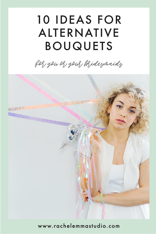 alternative bridesmaids bouquets
