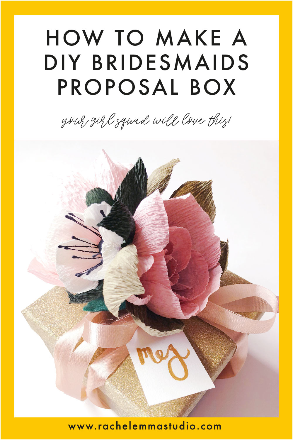 bridesmaids proposal box