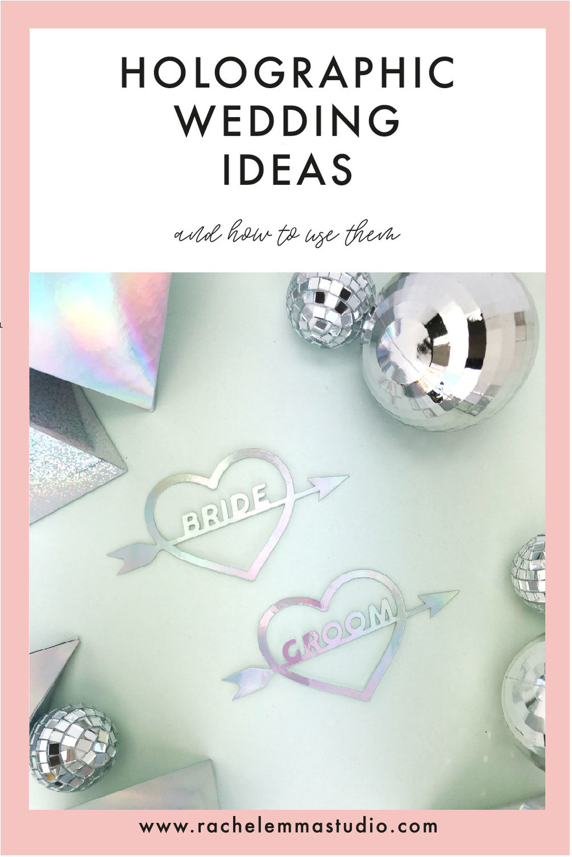 holographic wedding ideas