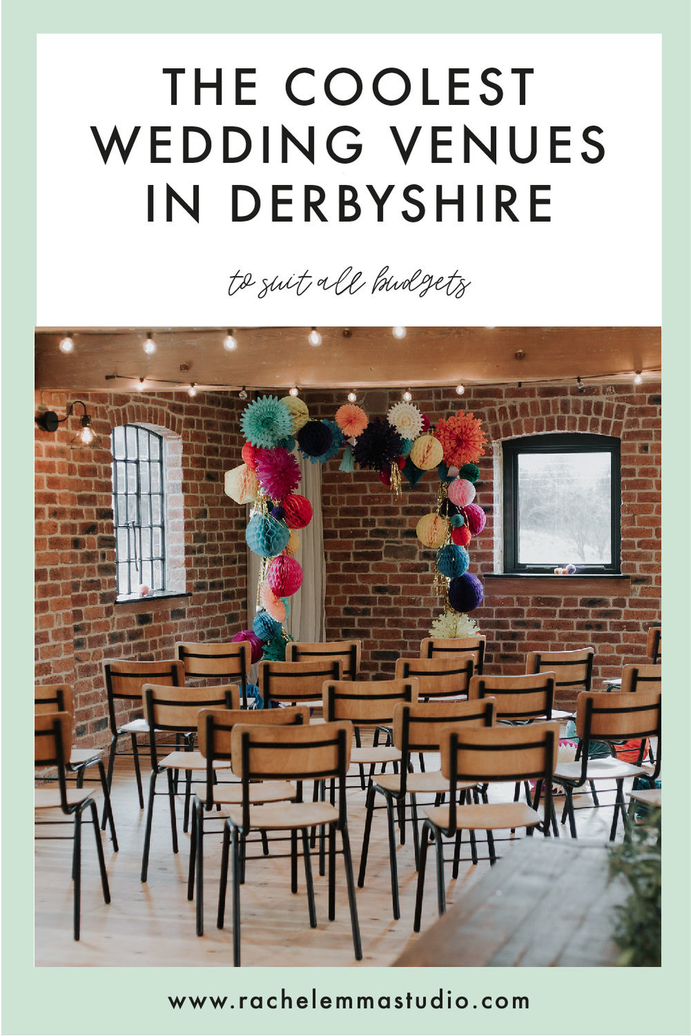 the coolest wedding venues in derbyshire