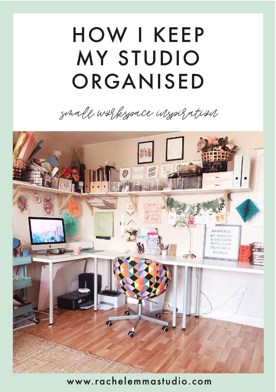 studio organisational tips
