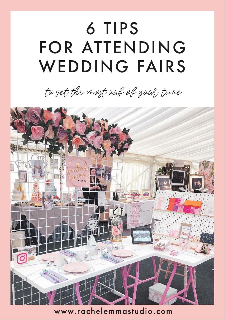 Tips for Attending a Wedding Fair — Rachel Emma Studio | Wedding ...