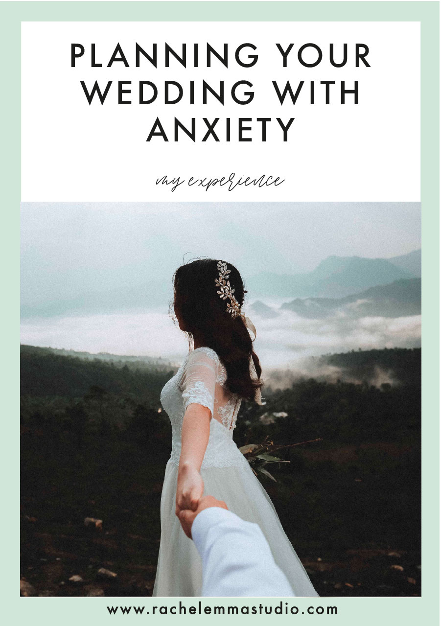 planning your wedding with anxiety