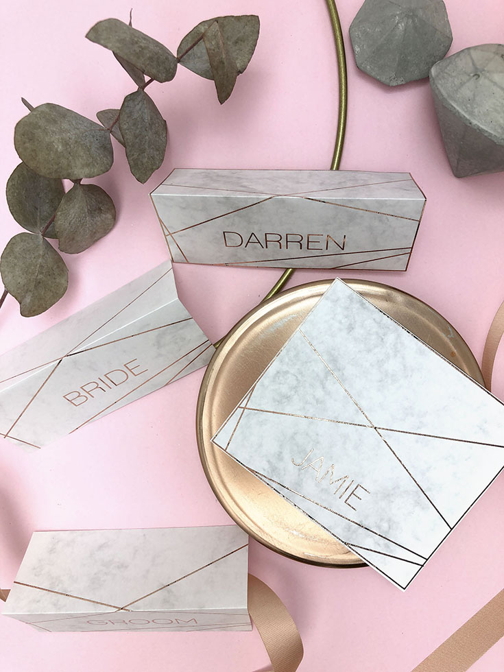 Industrial marble place setting ideas, four ways to style your table decor.