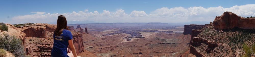 Mesa Arch Panorama, Canyonlands National Park