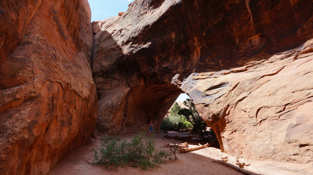 Private Arch, Arches National Park