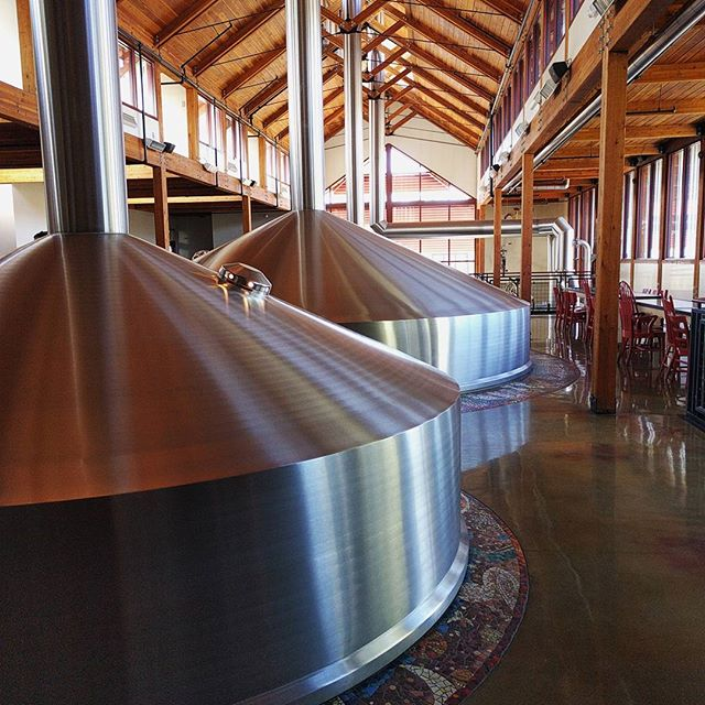 New Belgium brewery tour today! #craftbeer #beer #newbelgium #fortcollins #tinyhousetravels
