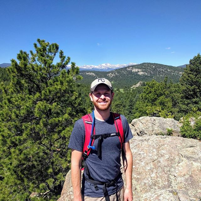 Nice hike this weekend near#Evergreen #Colorado. Loving this summer weather! #hiking #wanderlust