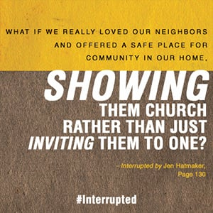 Interrupted - Show them Church