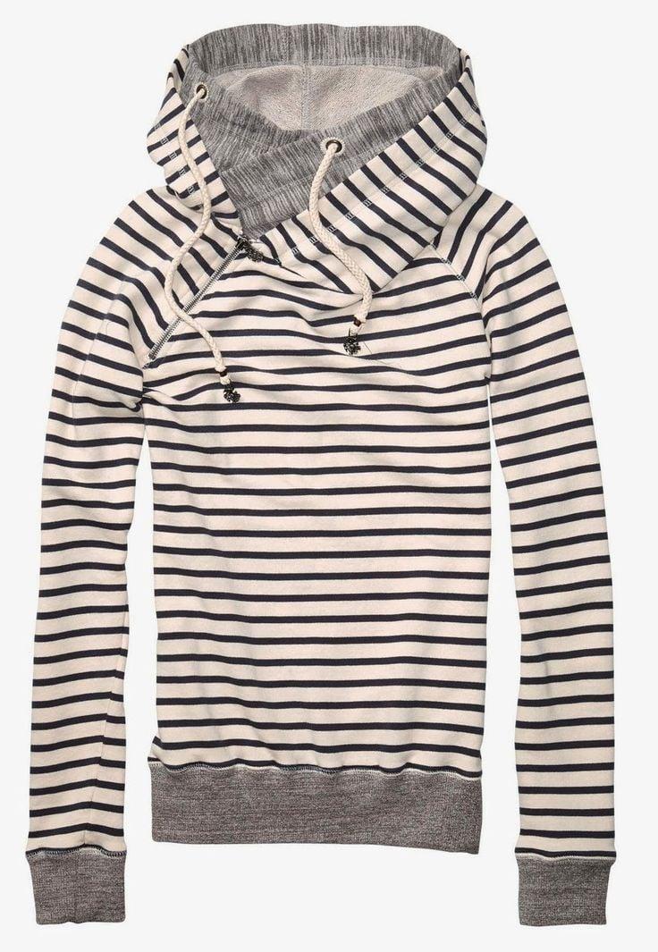 hoodie striped