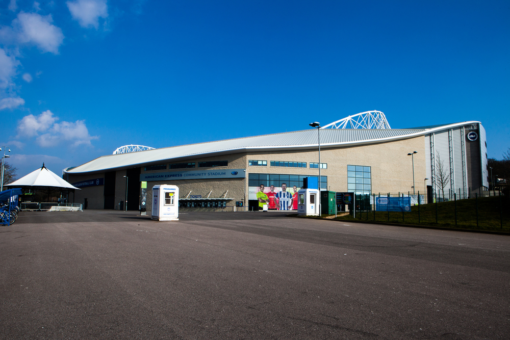 Outside the American Express Community Stadium - Image courtesy of BHAFC