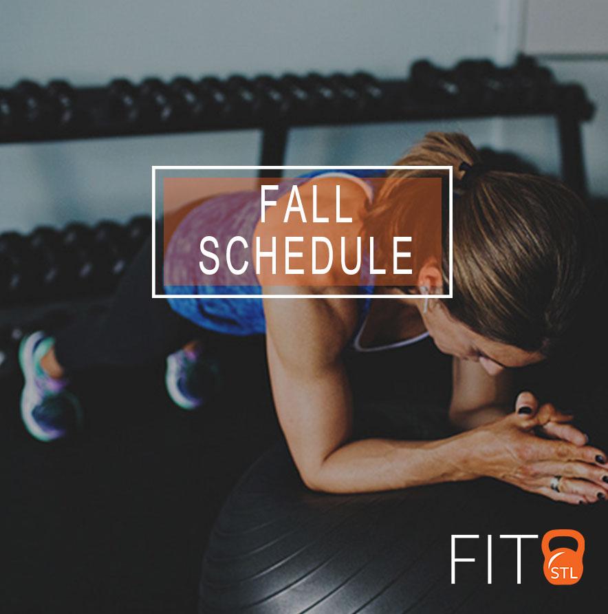 Fall Schedule 17