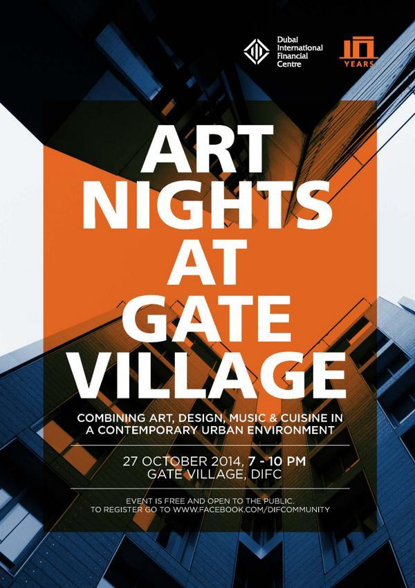 Art Nights at Gate Village at DIFC
