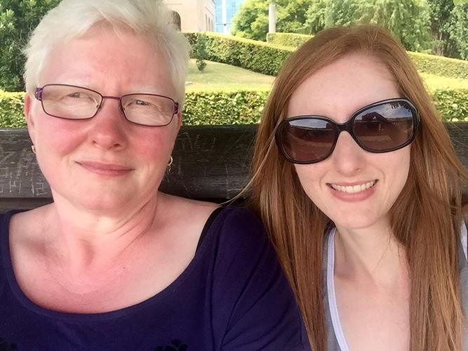 Me & my mom <3