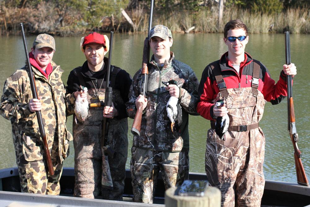 Rappahannock duck hunt
