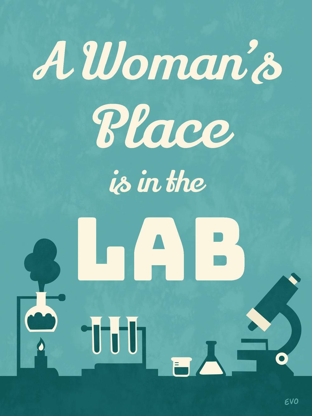 A Woman's Place Print