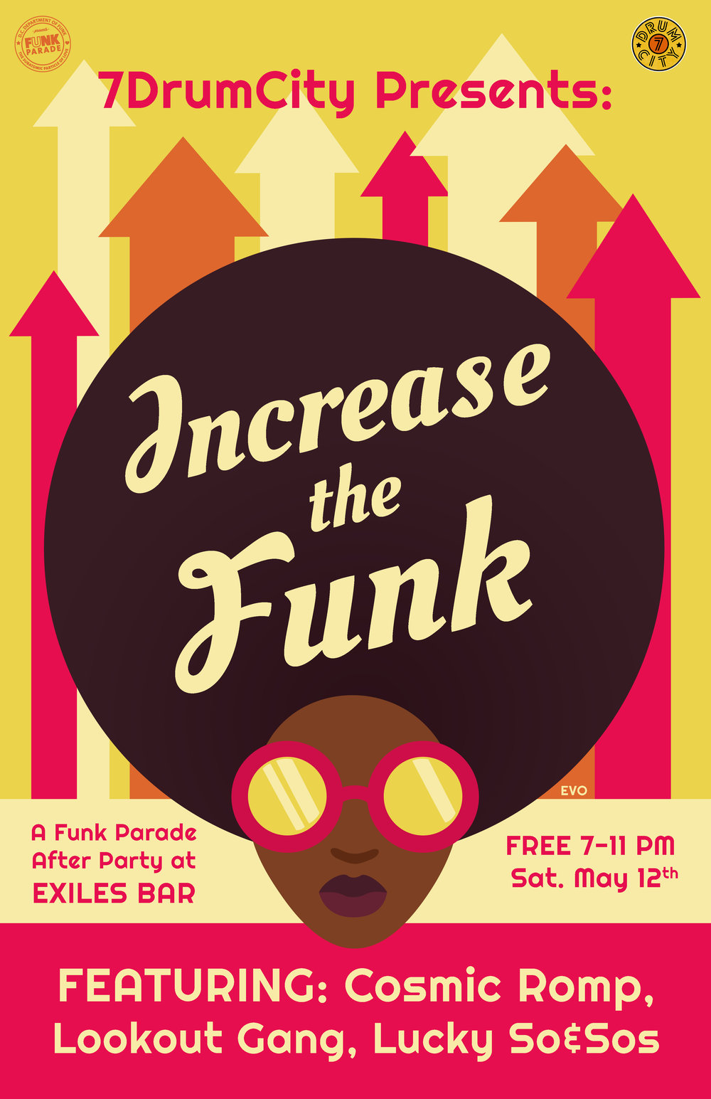 Funk Parade Party Poster
