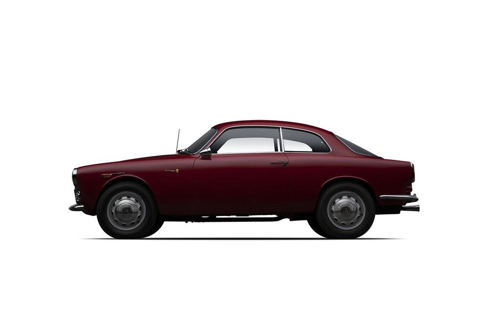 - 1961 Alfa Romeo Giulietta Sprint