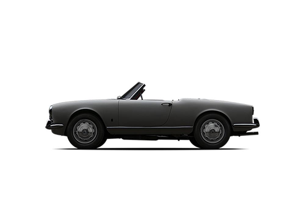 - 1965 Alfa Romeo Giulietta Spider