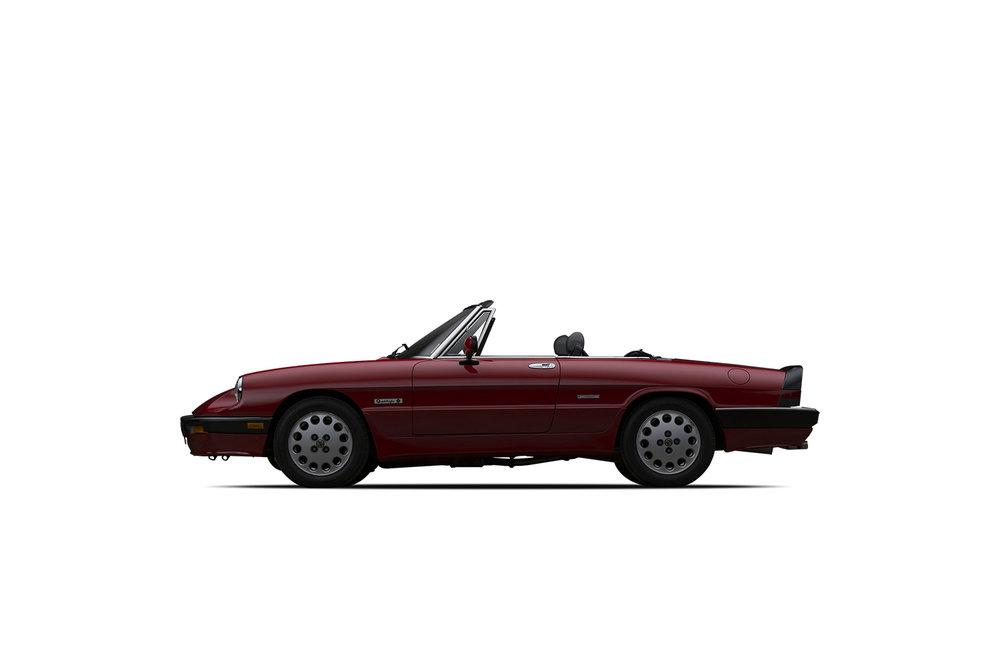 - 1986 Alfa Romeo Spider