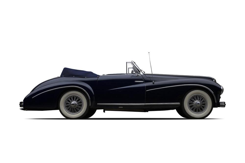- 1950 Delahaye 135 M Cabriolet Atlas by Guillore