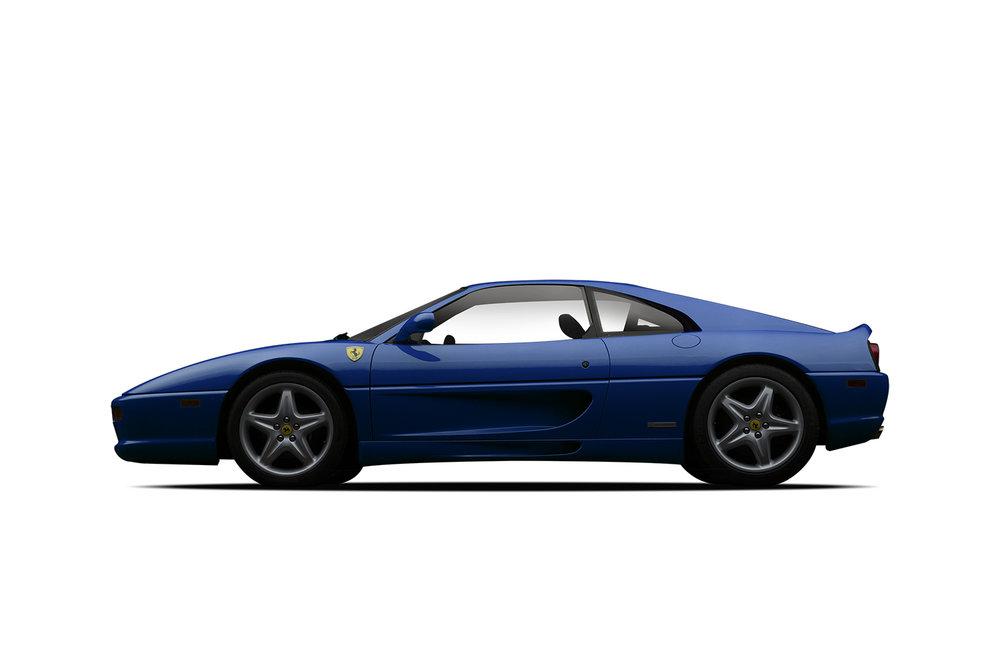 - 1995 Ferrari 355 GTS - Blue
