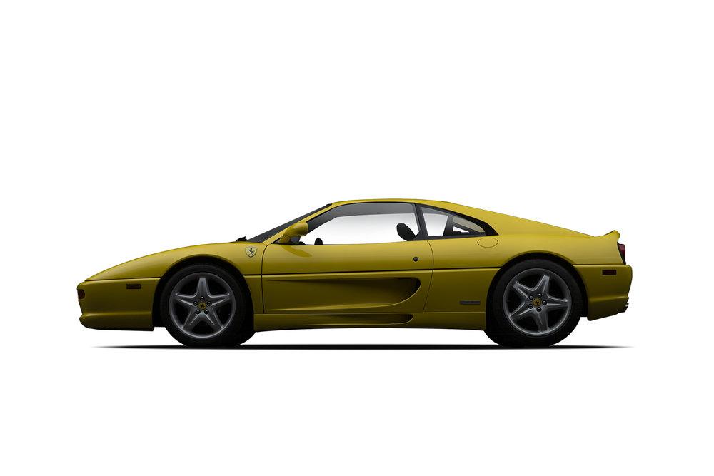 - 1995 Ferrari 355 GTS - Yellow