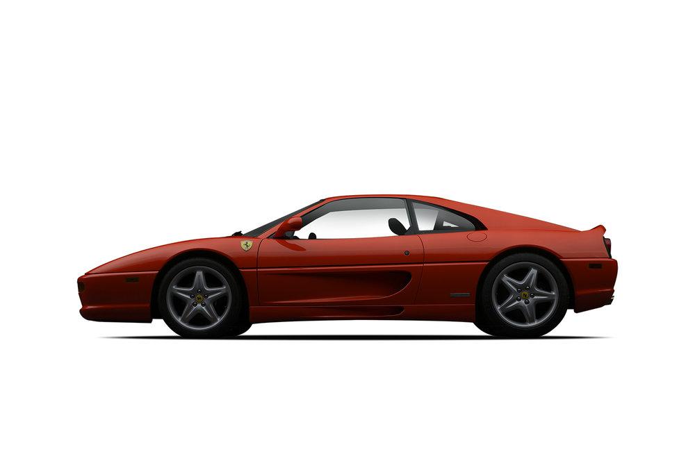 - 1995 Ferrari 355 GTS - Red