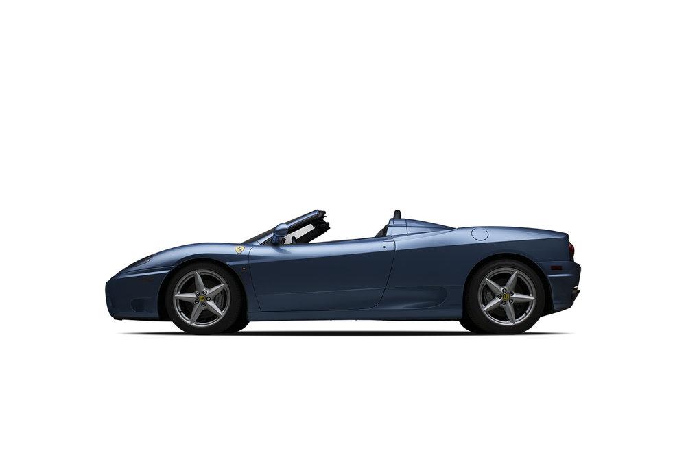 - 2002 Ferrari 360 Spider