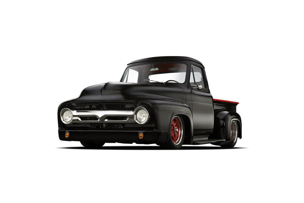 - 1954 Ford Custom - 3 Quarter View
