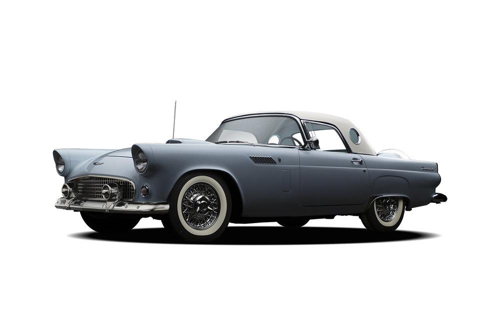 - 1956 Ford Thunderbird - 3 Quarter View