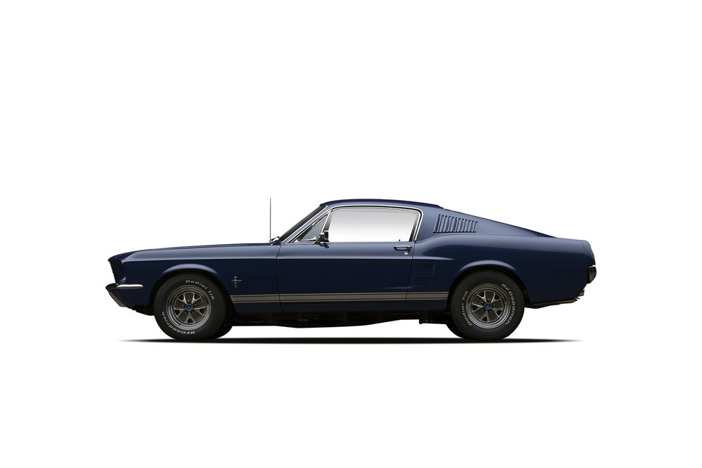 - 1967 Ford Mustang Custom 427 Fastback