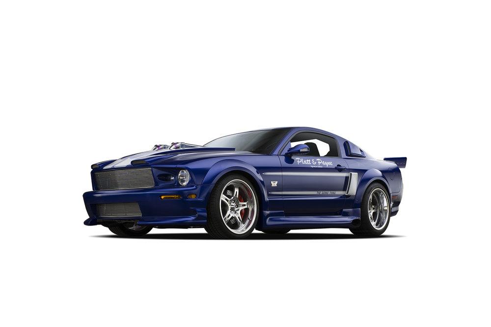 - 2005 Ford ShadrachMustang - 3 Quarter View