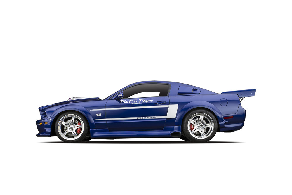 - 2005 Ford ShadrachMustang
