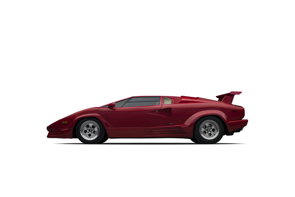 - 1989 Lamborghini Countach 25th Anniversary