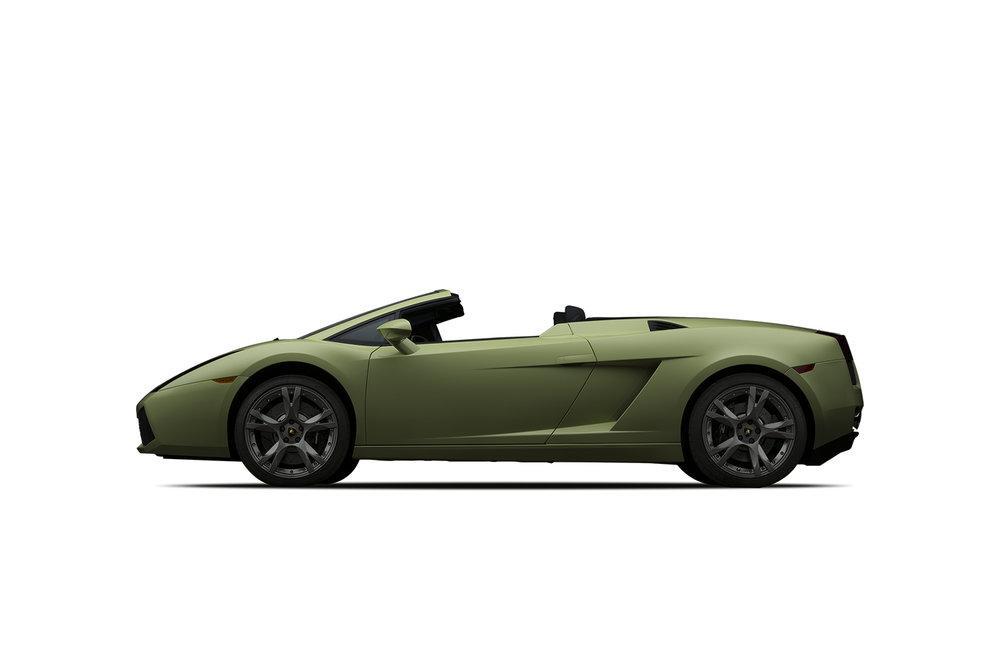 - 2008 Lamborghini Gallardo Spyder