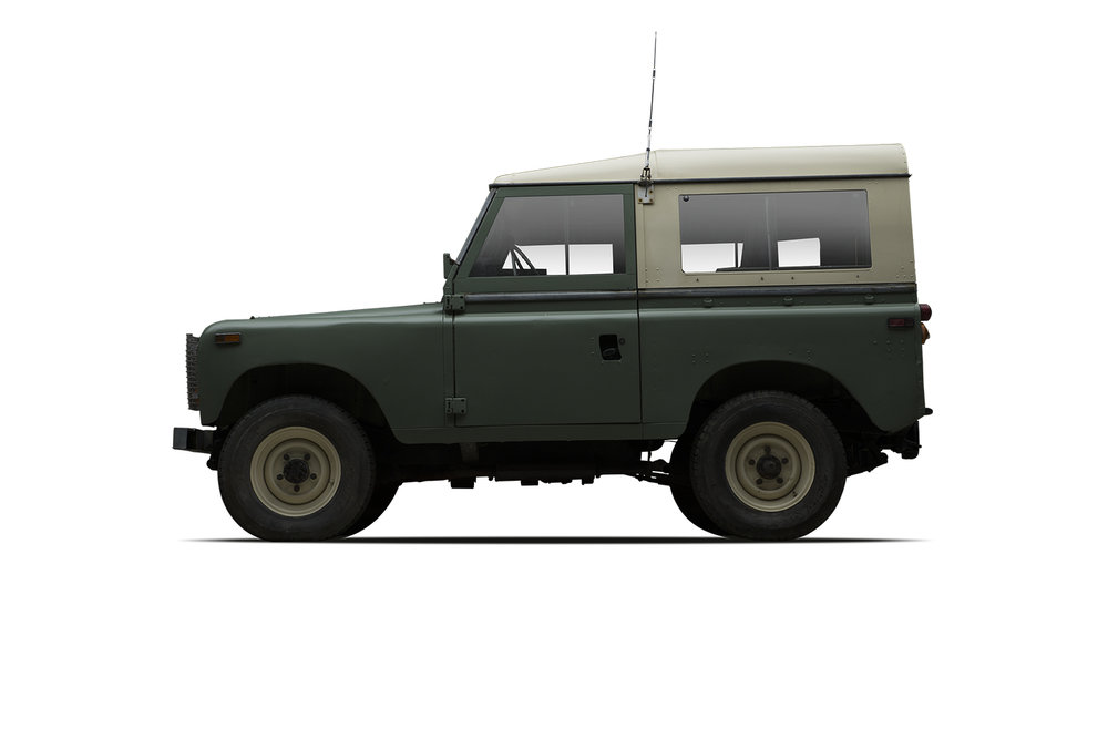 - 1973 Land Rover Series III