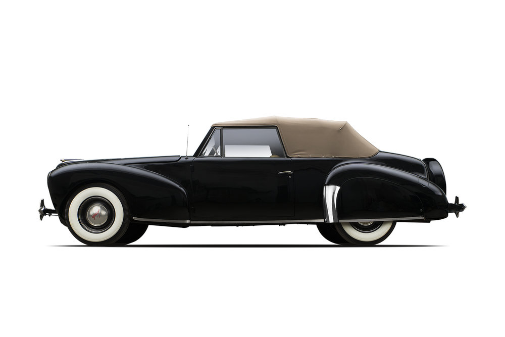 - 1940 Lincoln Continental Convertible