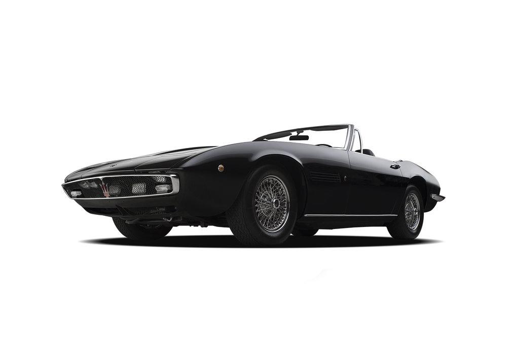 - 1970 Maserati Ghibli - 3 Quarter View