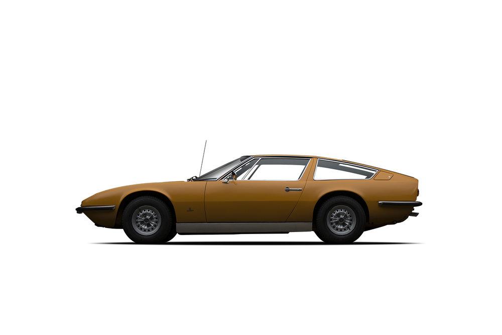 - 1972 Maserati Indy